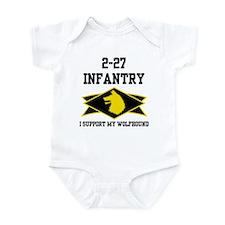 2-27 Infantry Wolfhounds Infant Bodysuit
