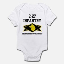 2-27 Infantry Wolfhounds Infant Bodysuit