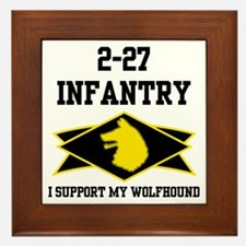 2-27 Infantry Wolfhounds Framed Tile