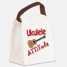 Ukulele Attitude Canvas Lunch Bag
