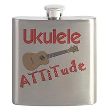 Ukulele Attitude Flask
