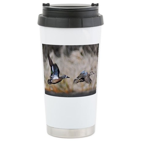 note card -front 3 Stainless Steel Travel Mug