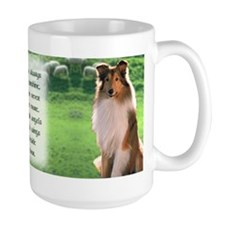 Irish Blessing Sheltie Mug