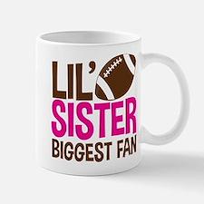 Football Lil' Sister Mugs