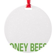 livehoneybee2 Ornament