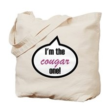 Im_the_cougar Tote Bag