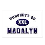 Property of madalyn Postcards (Package of 8)