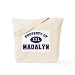 Property of madalyn Tote Bag