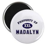 Property of madalyn Magnet