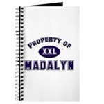 Property of madalyn Journal