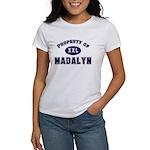 Property of madalyn Women's T-Shirt