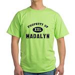 Property of madalyn Green T-Shirt