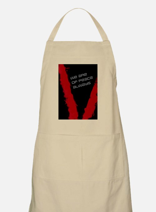 we are of peace 2 Apron