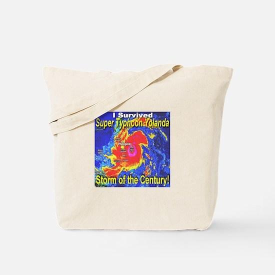 I Survived Super Typhoon Yolanda Tote Bag