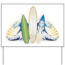 surfboard1 Yard Sign