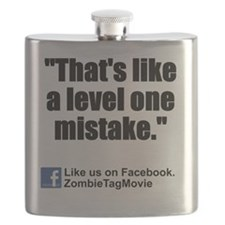 level one mistake back Flask
