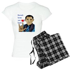 i_love_u_obama pajamas