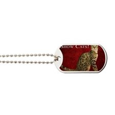 Show Cats Cover Dog Tags