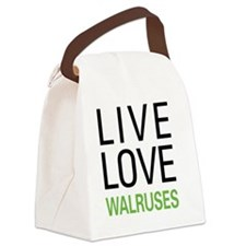 livewalrus Canvas Lunch Bag
