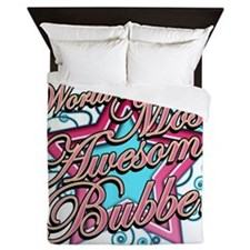 Most Awesome Bubbe Queen Duvet