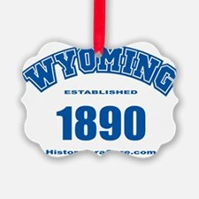 wyoming Ornament