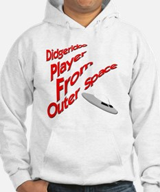 Didgeridoo Player from outer spa Hoodie