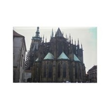 Prague Cathedral Rectangle Magnet
