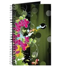 DK Green Floral (4G slider) Journal