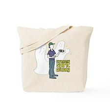 ghosts-with-investigatorDARKSHIRT Tote Bag