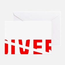 diver.2 Greeting Card