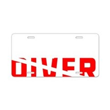 diver.2 Aluminum License Plate