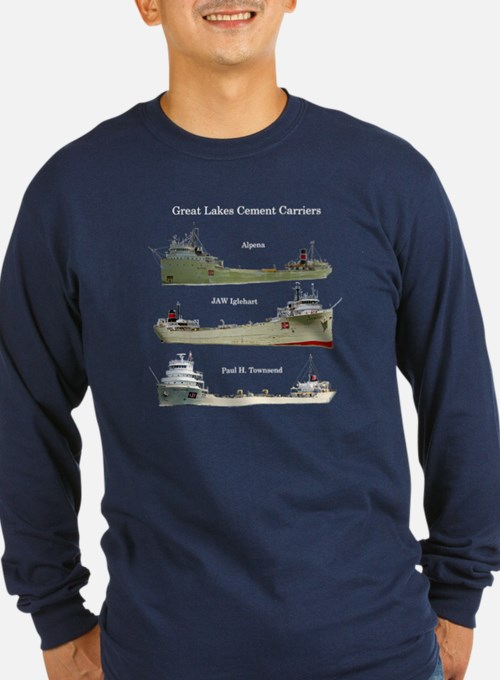 Great Lakes Cement Carriers Long Sleeve T-Shirt