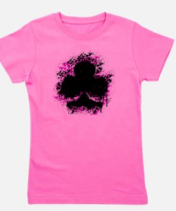 splater club pink Girl's Tee