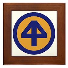 44th Infantry Division Framed Tile