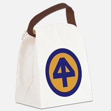 44th Infantry Division Canvas Lunch Bag
