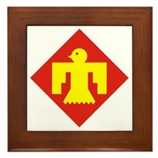 45th Infantry Division Framed Tile