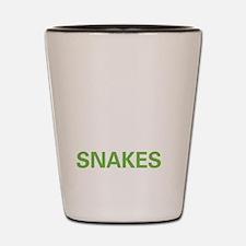 livesnake2 Shot Glass