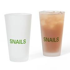 livesnail2 Drinking Glass