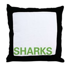 livesharks Throw Pillow