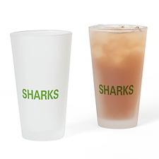 livesharks Drinking Glass
