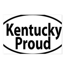 KENTUCKY PROUD oval Postcards (Package of 8)