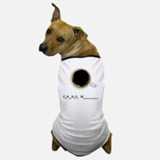Coffee-Lt-C8H10 Dog T-Shirt
