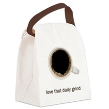 Coffee-Lt-ILoveTheDailyGrind Canvas Lunch Bag