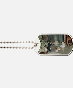 The Rehearsal of the Ballet on Stage by E Dog Tags