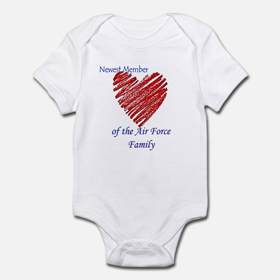 Newest Member of the Air Force Infant Bodysuit