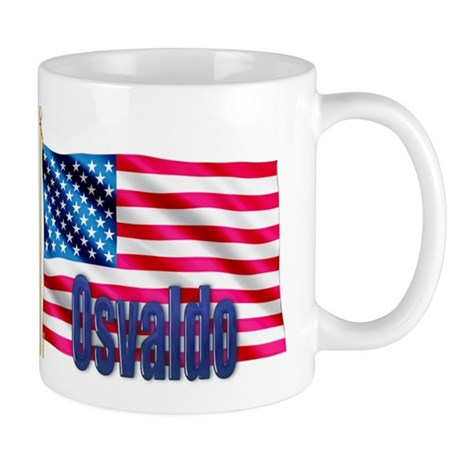 Osvaldo American Flag Gift Mug