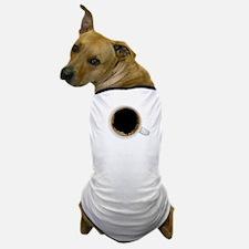 Coffee-Dk-C8H10 Dog T-Shirt