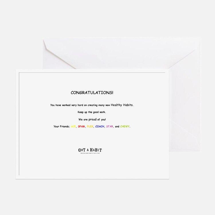 notecard all Greeting Card