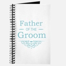 Father of the Groom blue Journal