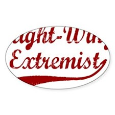 Right-Wing-Extremist-(cursive)-whit Decal